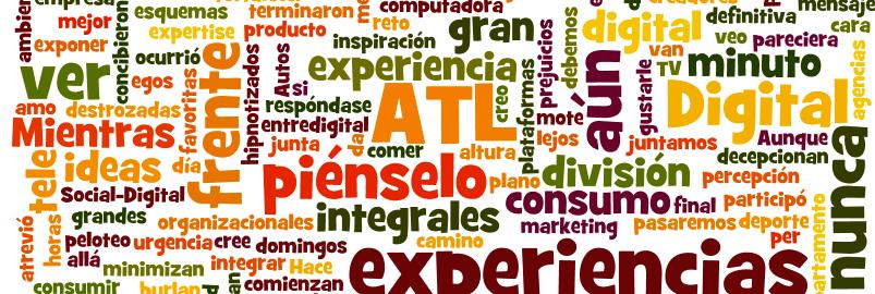 """Etiquetas: Los de """"ATL"""" los de """"BTL"""", los de """"Digital"""""""