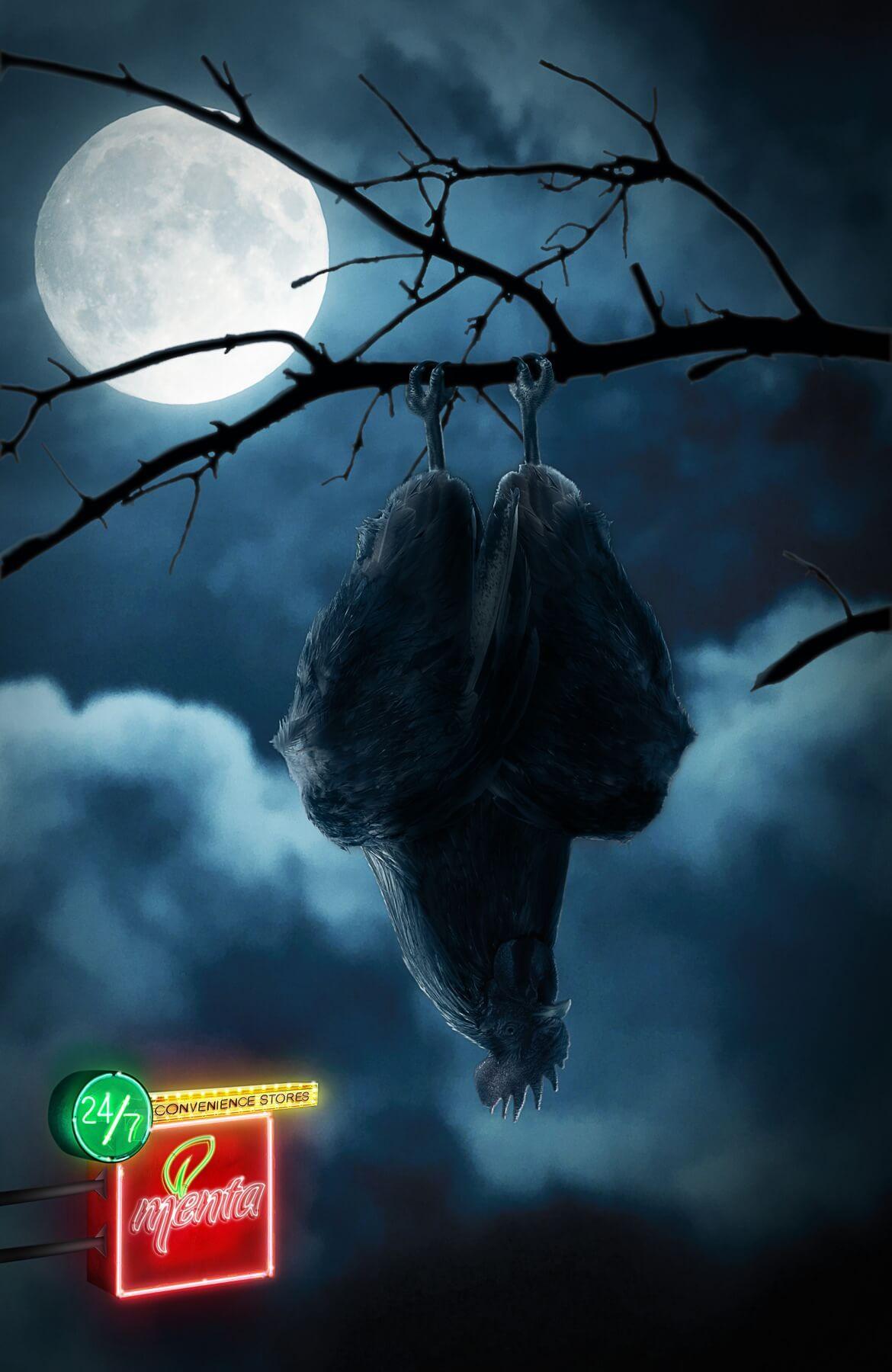 Criatura nocturna y despertador seguro.
