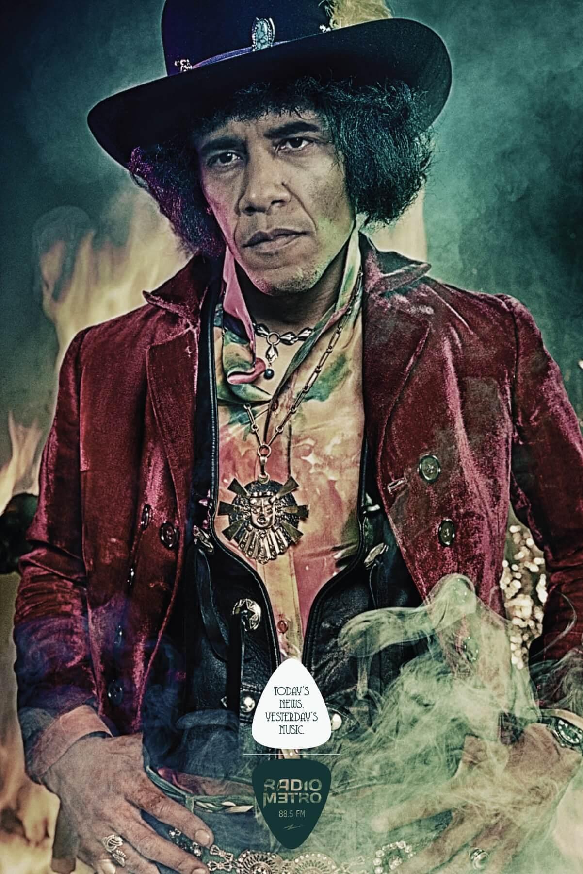 ¿Imaginas un Obama Hendrix?