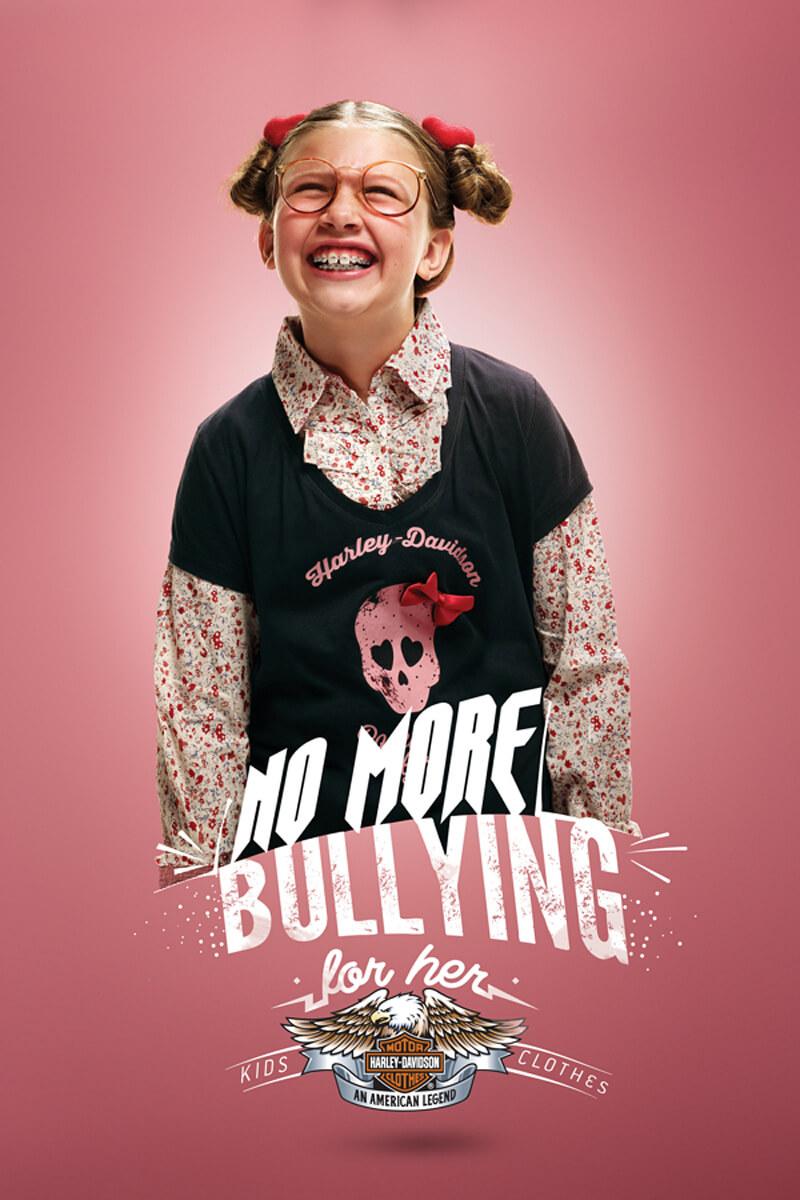 #CuandoLaPublicidad  y Harley-Davidson ¡Acaban con el bullying!