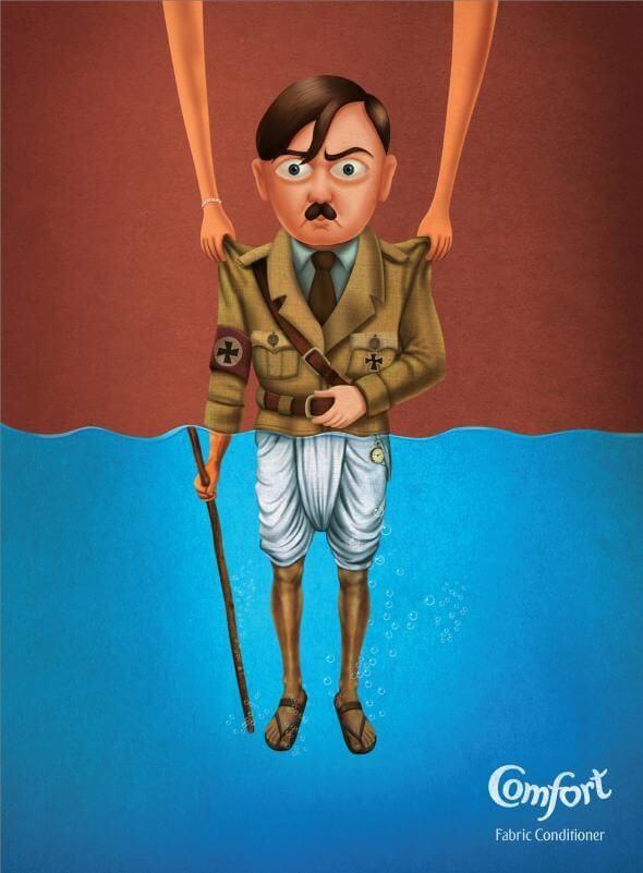 #CuandoLaPublicidad ¡Suaviza hasta a Hitler!