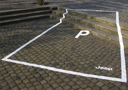 #CuandoLaPublicidad ¡Te aparta el estacionamiento?