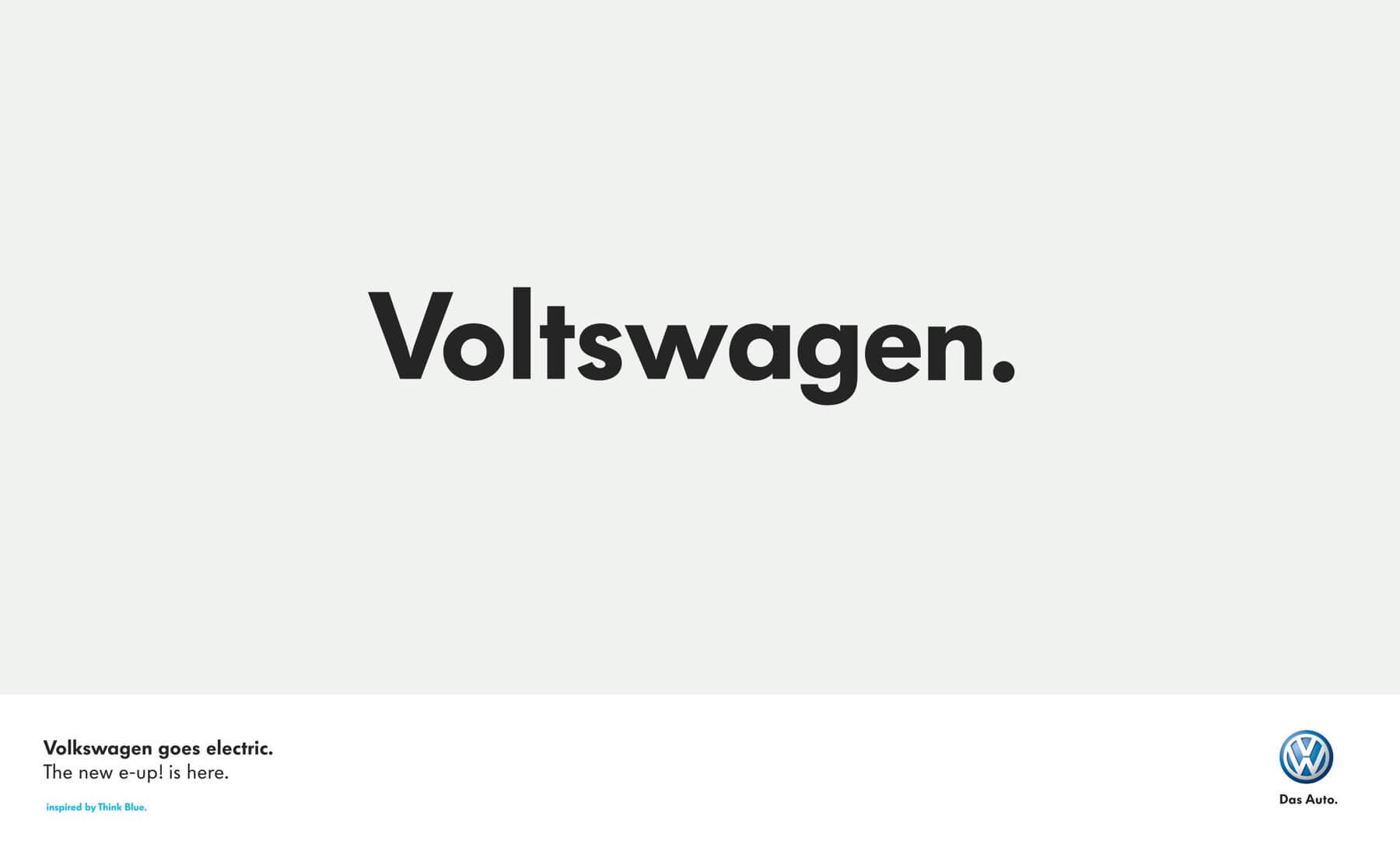 Con ustedes el nuevo: ¡Voltswagen!