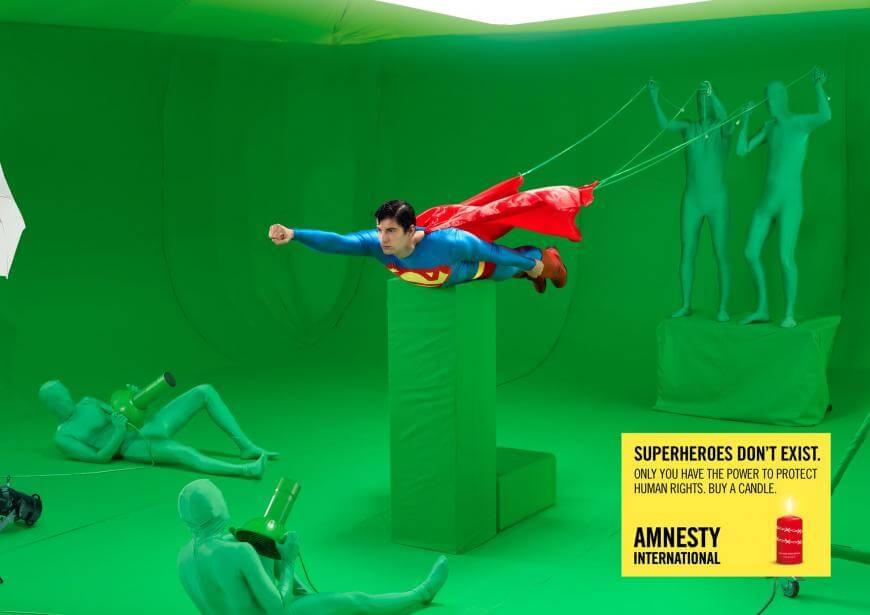Amnistía Internacional: Los superhéroes de la vida real.