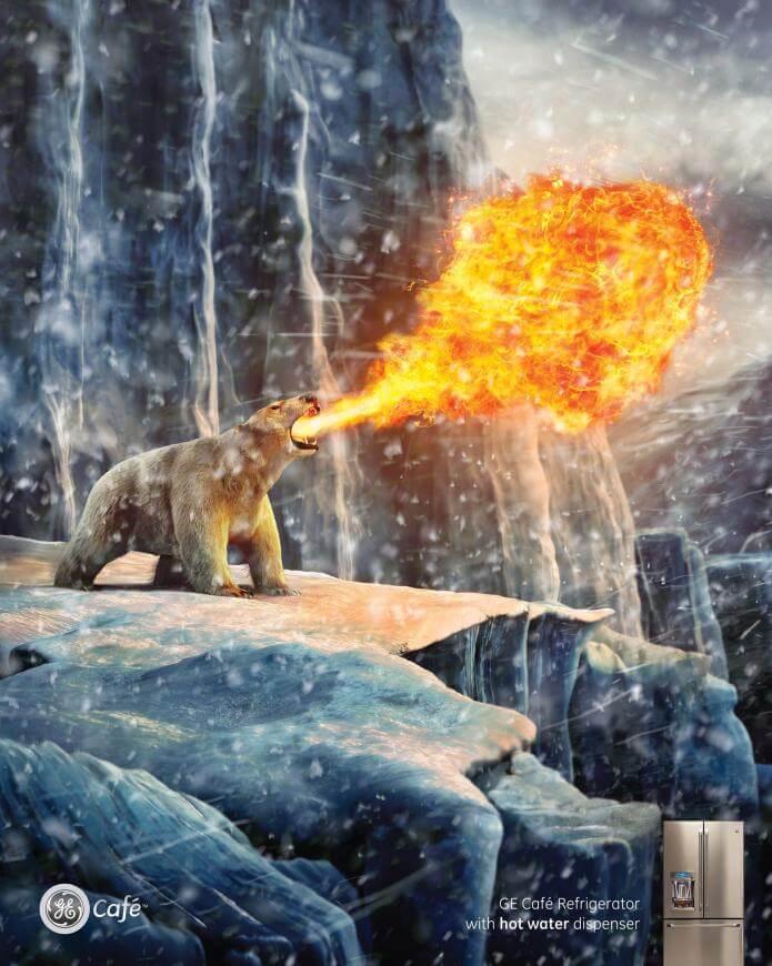 GE: Hielo y fuego.