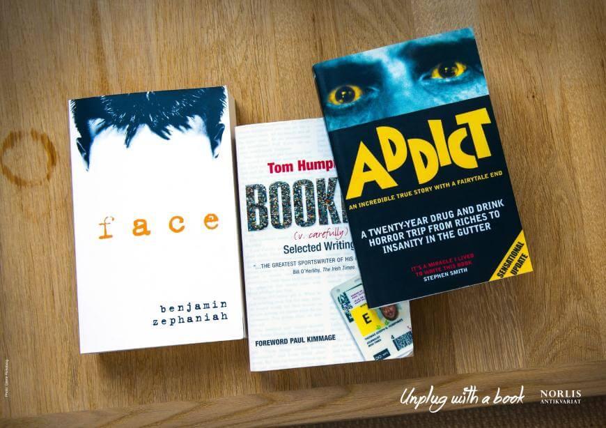 Norlis Antikvariat: Desconéctate con un libro.