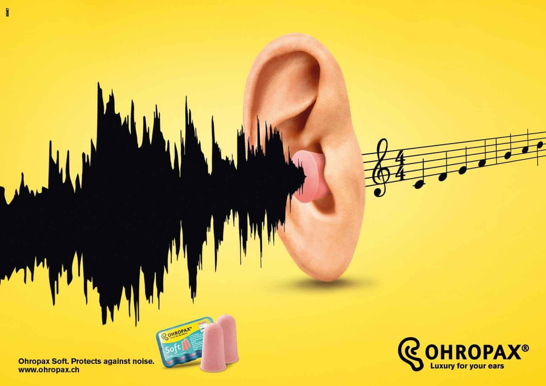 Ohropax: Protección para tus oídos.