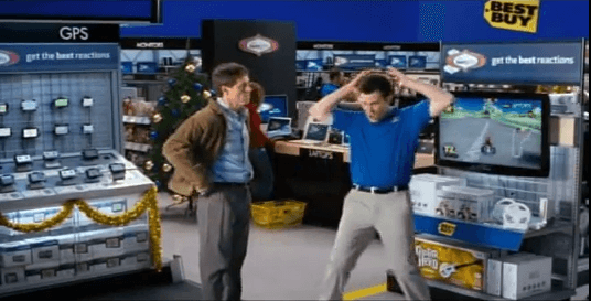 #OldSchoolAdvertising: Los interpretes de Best Buy.