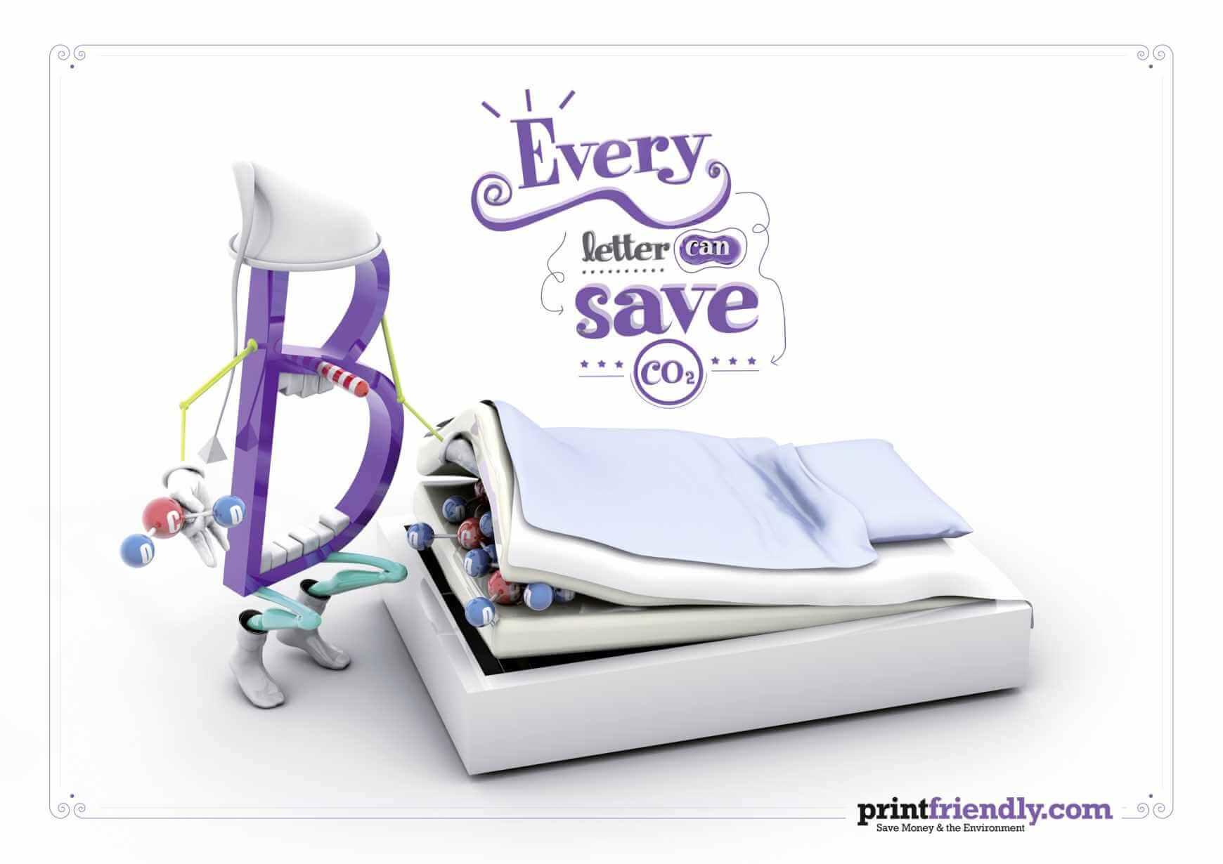 #CuandoLaPublicidad: Ahorra dinero y papel.