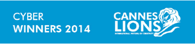 Lista de ganadores categoría: Cyber Cannes Lions 2014.