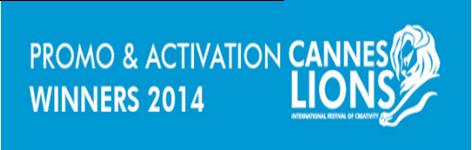 Lista de ganadores categoría: Promo & Activations Cannes Lions 2014