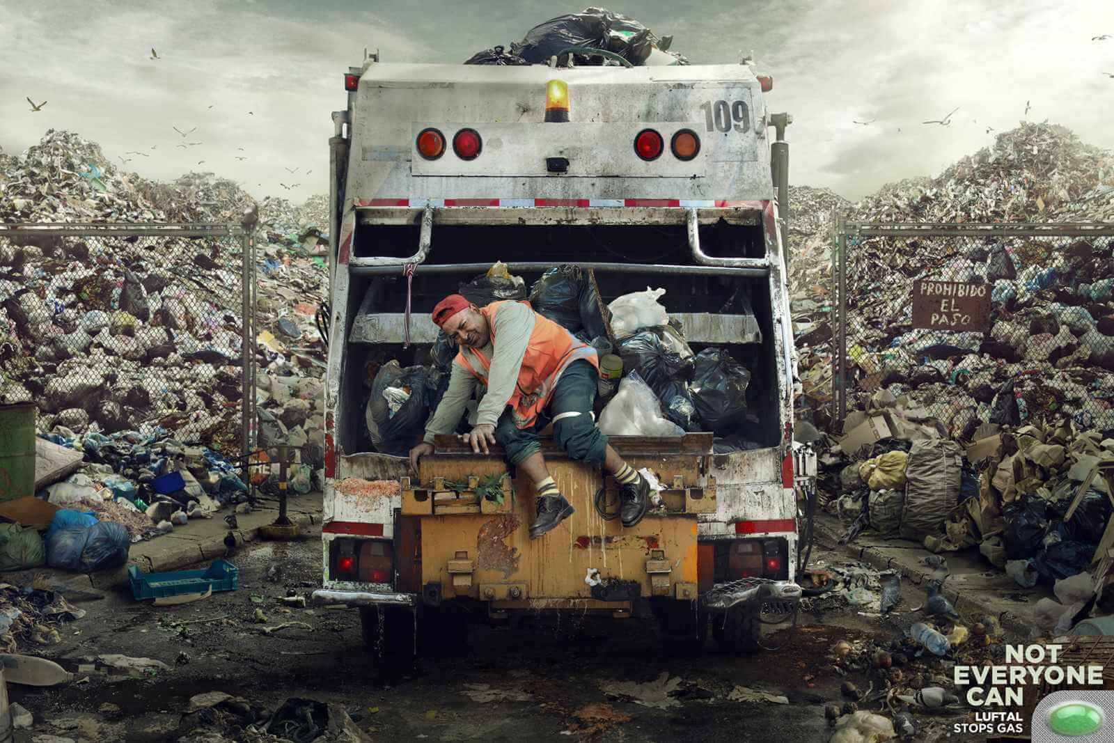 #CuandoLaPublicidad: Se fusiona con el ambiente.