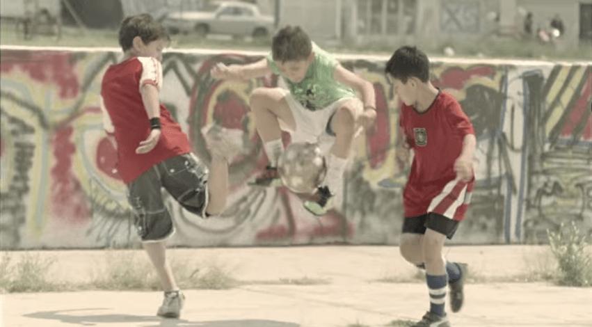 La magia del fútbol.