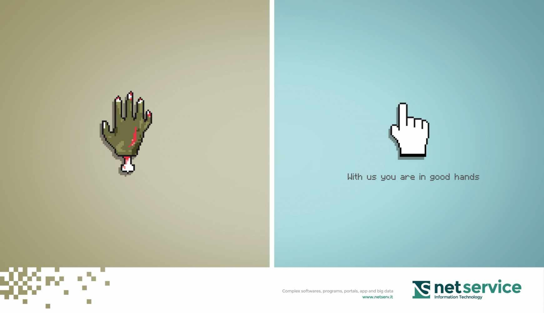 Netserv: Buenas manos.