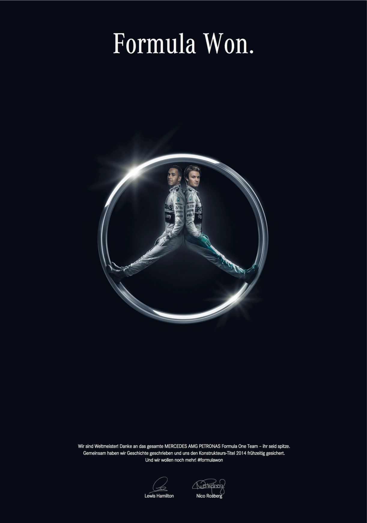 Mercedes-Benz: Fórmula ganadora.