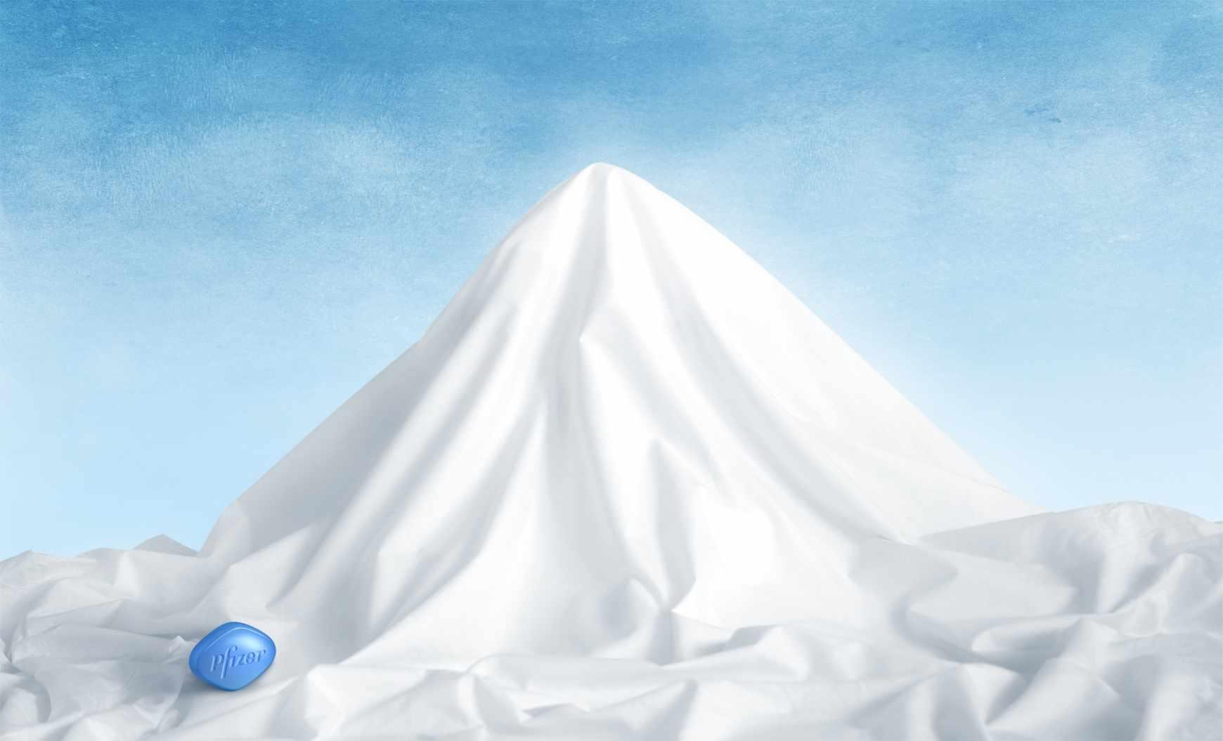 Viagra: Montaña feliz.