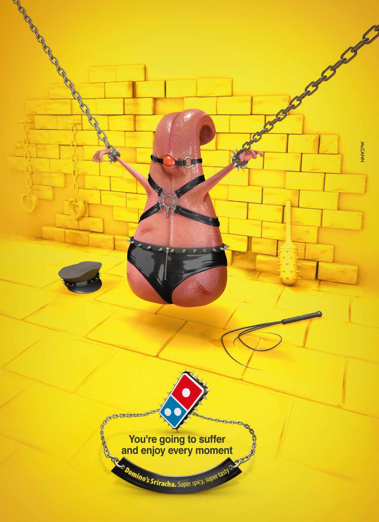 Dominos Pizza: Amor apache.