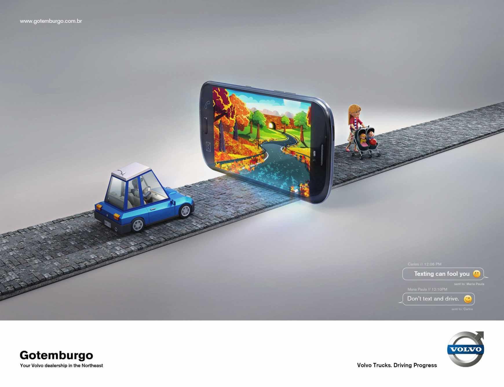 Gotemburgo Volvo: Ilusiones digitales