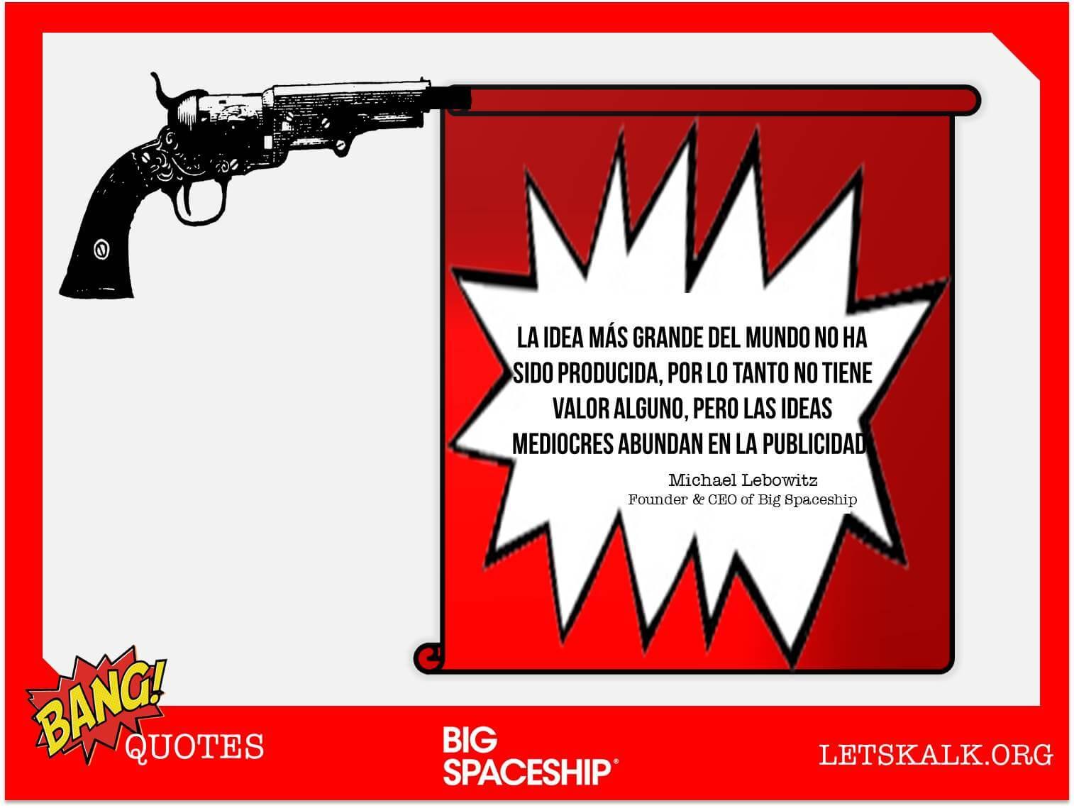"""#BangQuotes: """"La idea más grande del mundo no ha sido producida…""""Michael Lebowitz"""