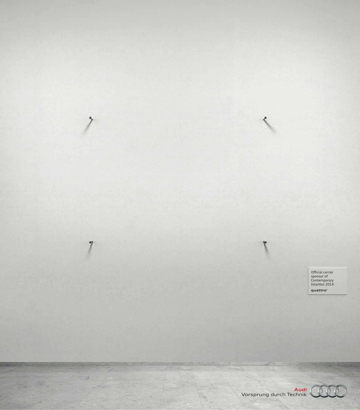 #CuandoLaPublicidad: Es minimalista.