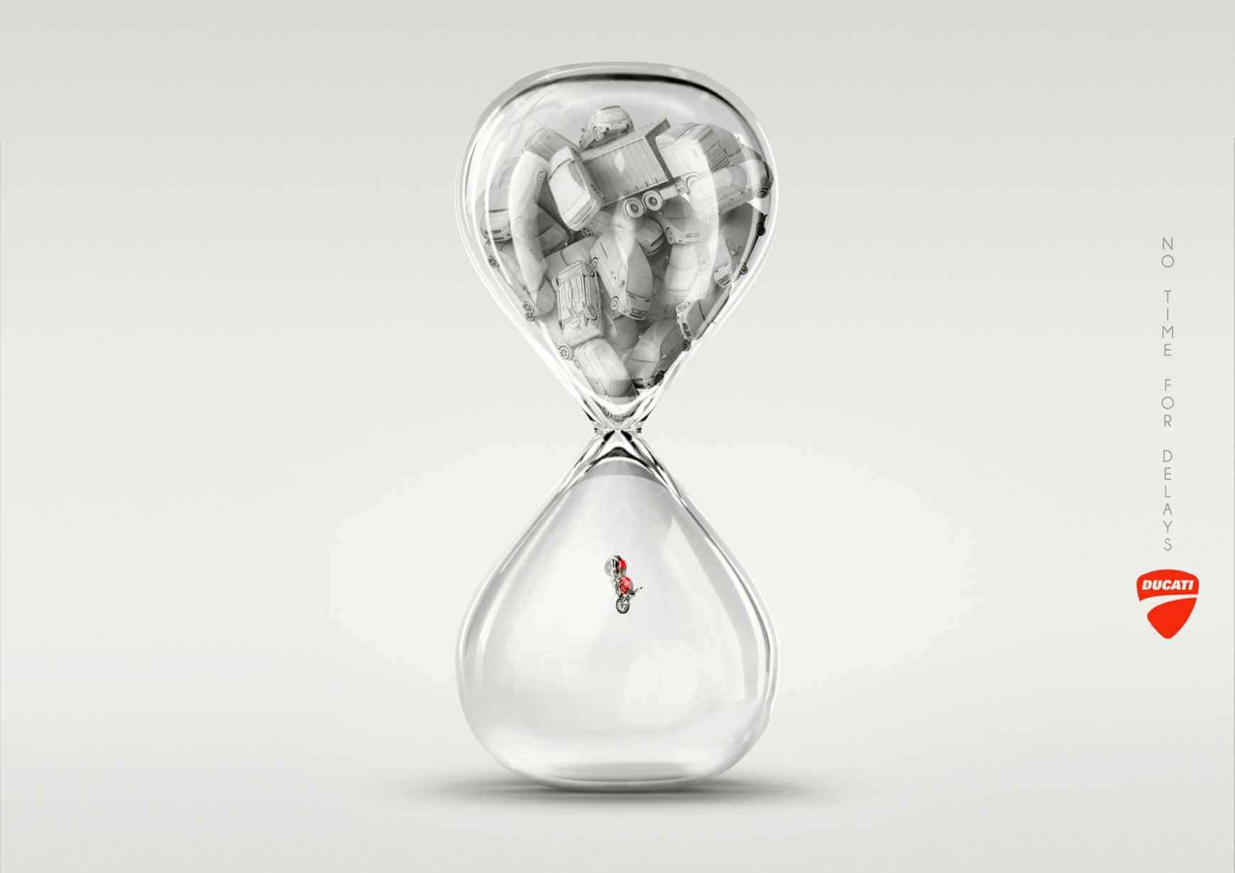 #CuandoLaPublicidad: No pierde tiempo.
