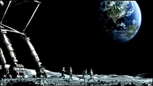 #OldSchoolAdvertising: Oficina lunar.