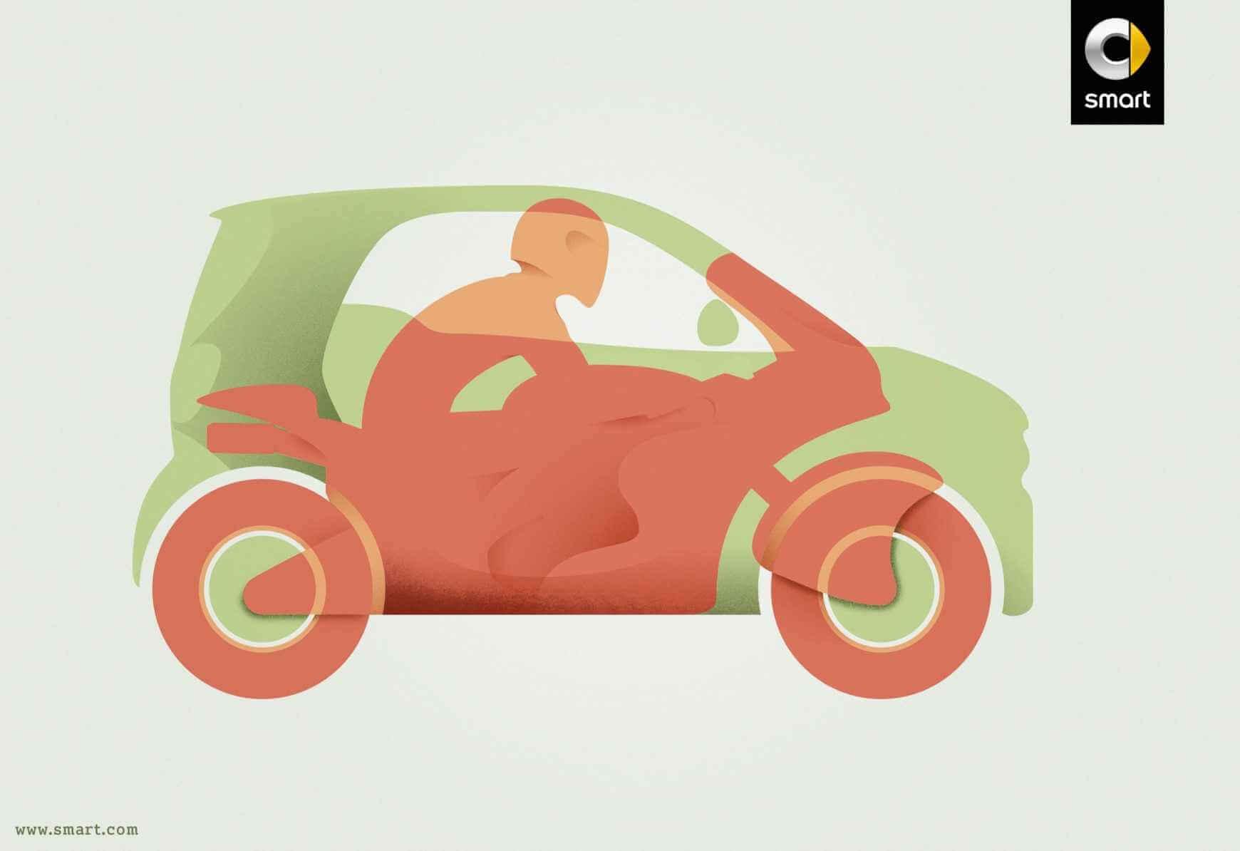 smart: Compacto motorizado.
