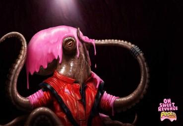 Pepto Bismol: Venganza rosada.