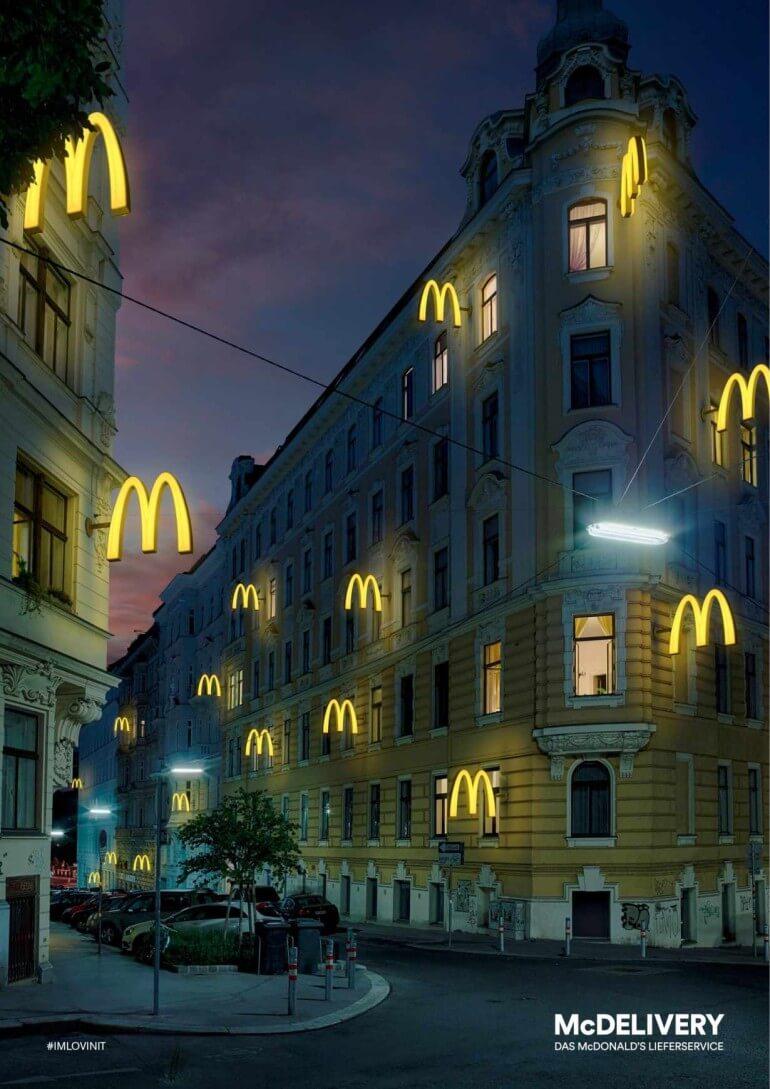 McDonald's: Placer en casa.