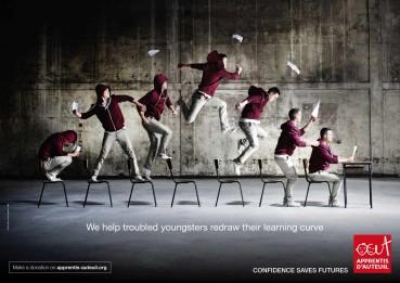 Apprentis d'Auteuil: Curva de aprendizaje.