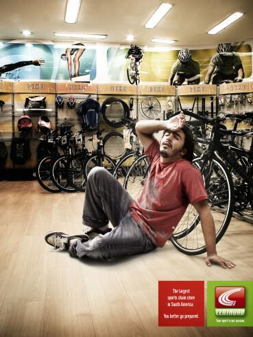 #OldSchoolAdvertising: Paraíso deportivo.