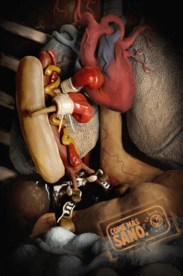 #OldSchoolAdvertising: Comida saludable.