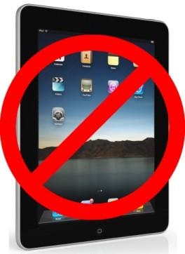 Sabías que no puedes regalar ni promocionar ipods y ipads en Facebook??