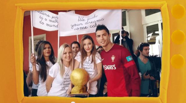 Cristiano Ronaldo le gana el Balón de Oro a Messi