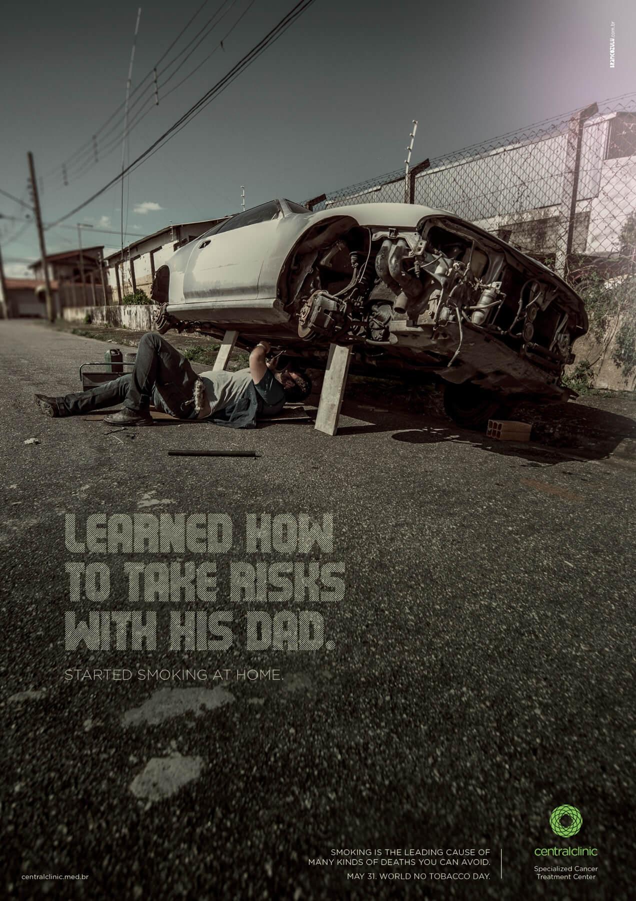 ¿Arriesgado como tu padre?