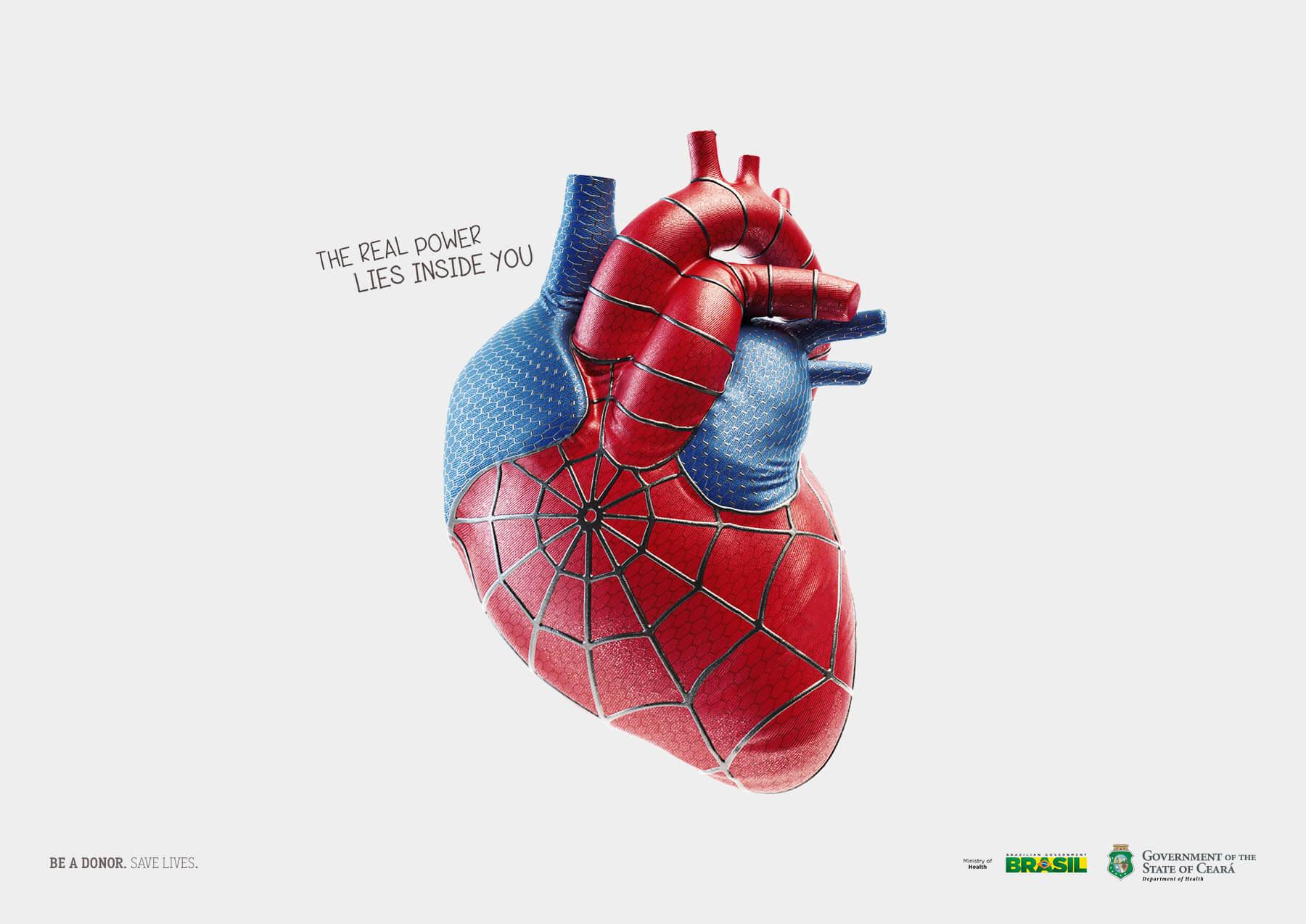 #CuandoLaPublicidad ¡Tiene corazón de Spider-Man!