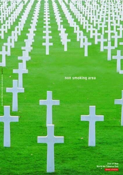 #CuandoLaPublicidad ¡Sepulta al tabaquismo!