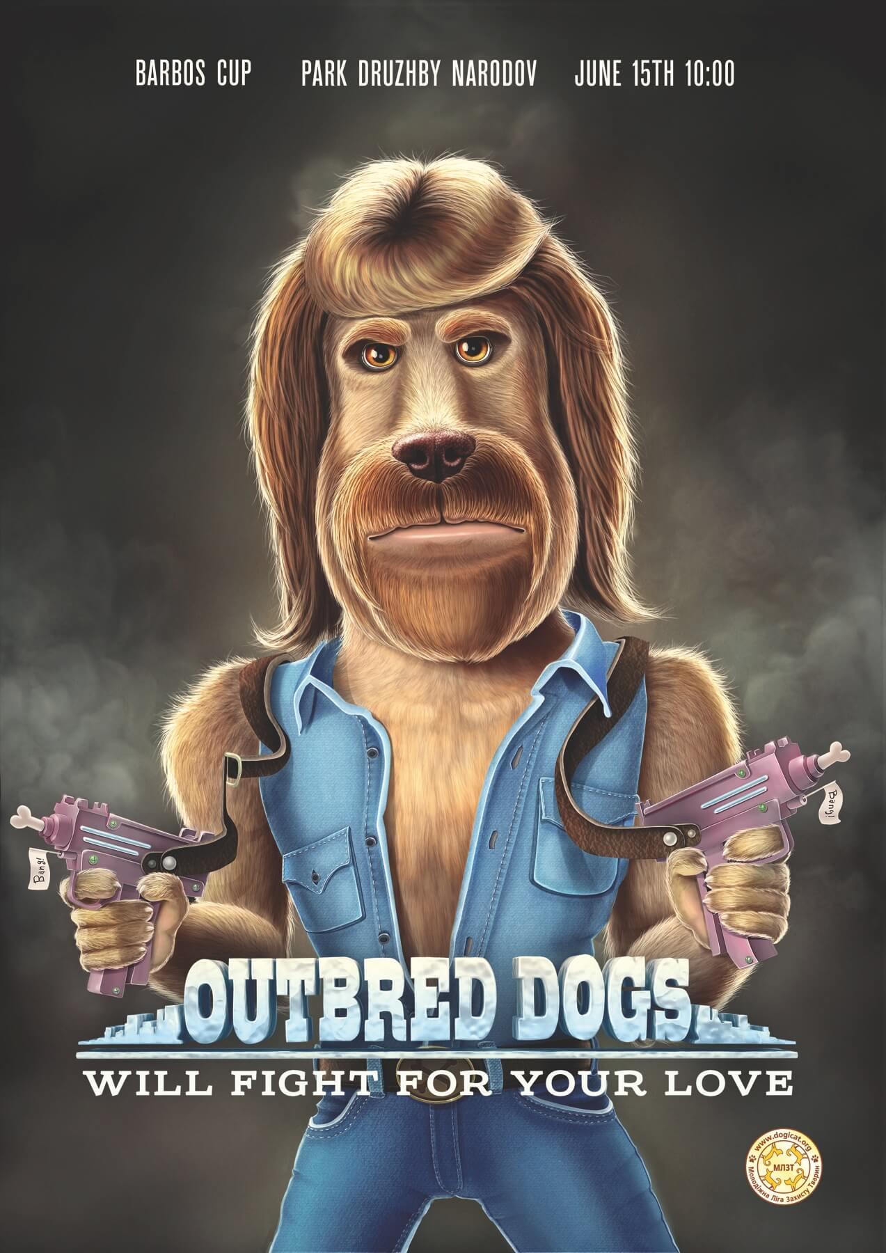 """#CuandoLaPublicidad es: """"Dog #Norris"""""""