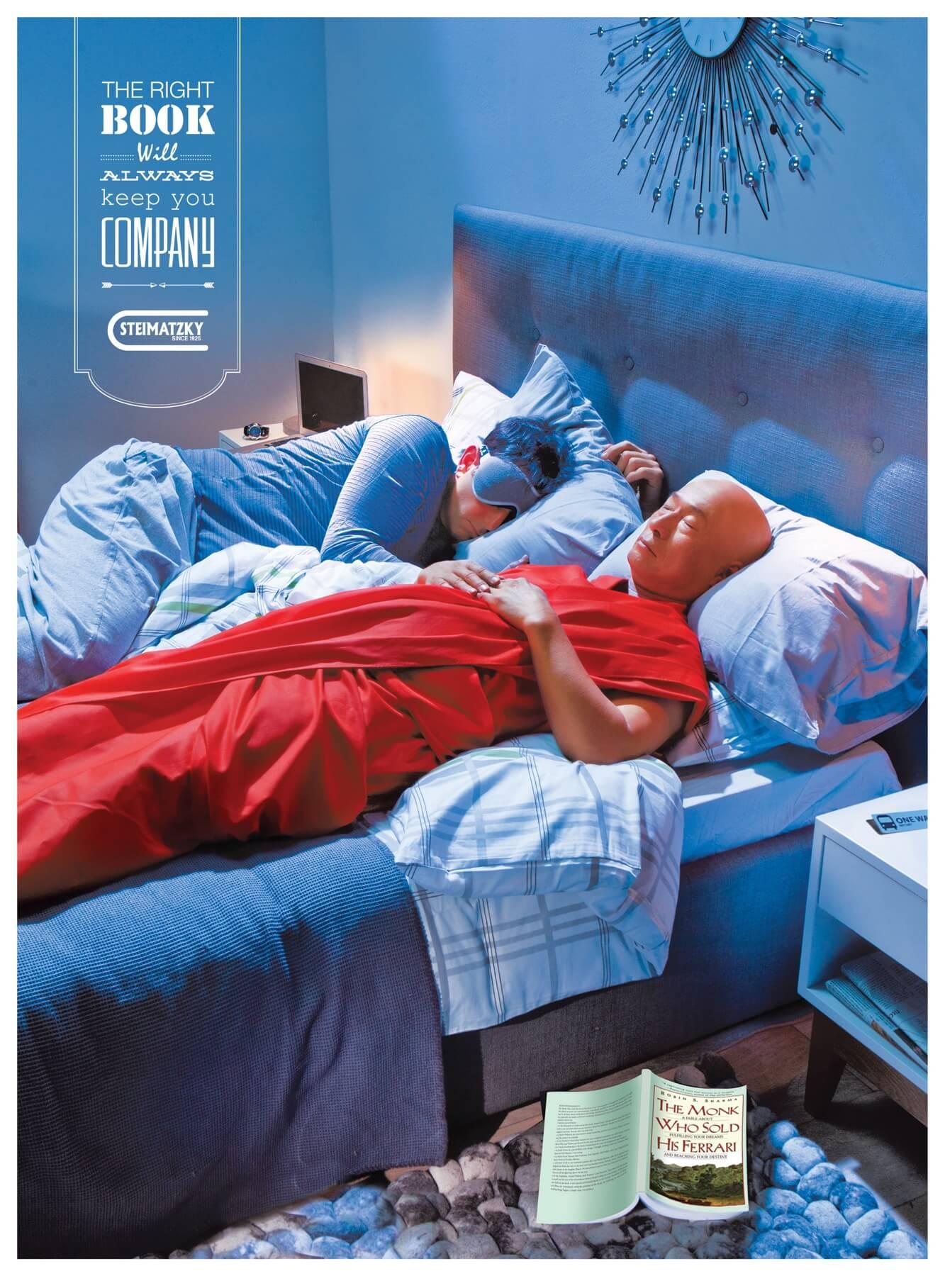 #CuandoLaPublicidad ¡Te ayuda a dormir tranquilo!