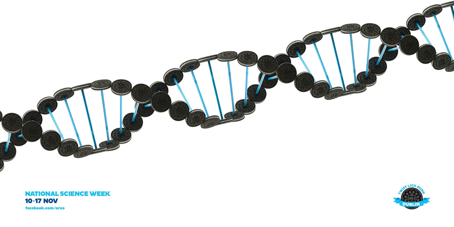 #CuandoLaPublicidad ¡Llena tu ADN… de #Oreo!