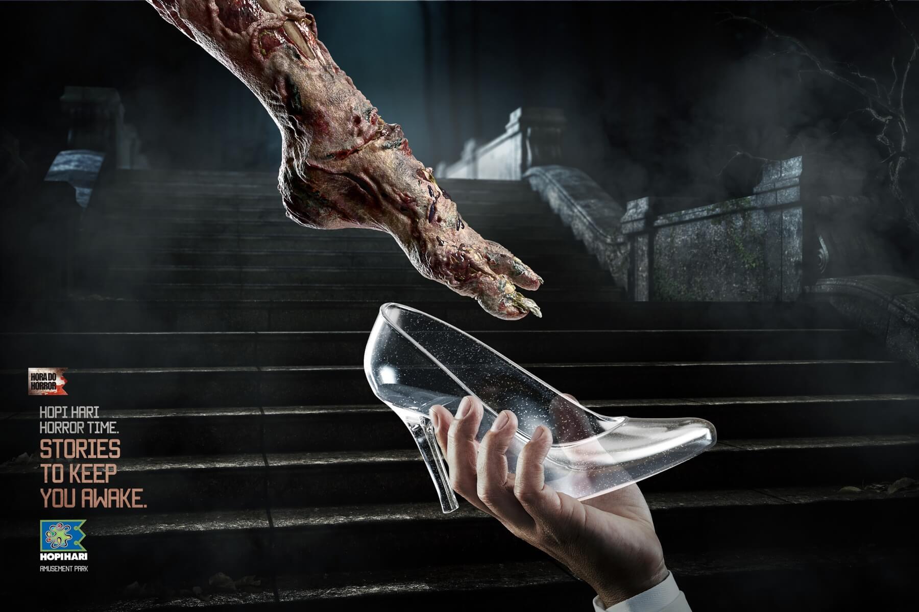 Zapatillas de cristal que te quitan el sueño.