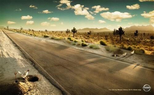 #CuandoLaPublicidad ¡No cruzó el camino!