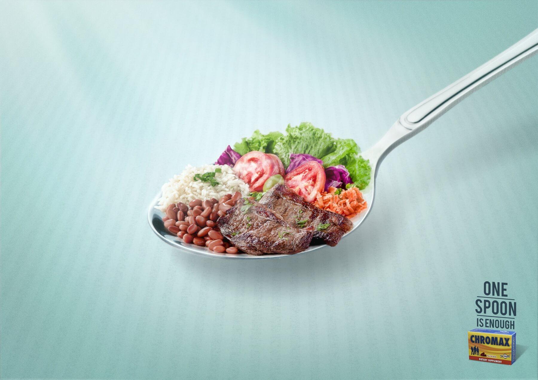 Comidas completas en una sola cucharada.