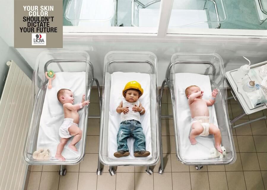 Publicidad Antiracismo: Cuando el color no define tu futuro