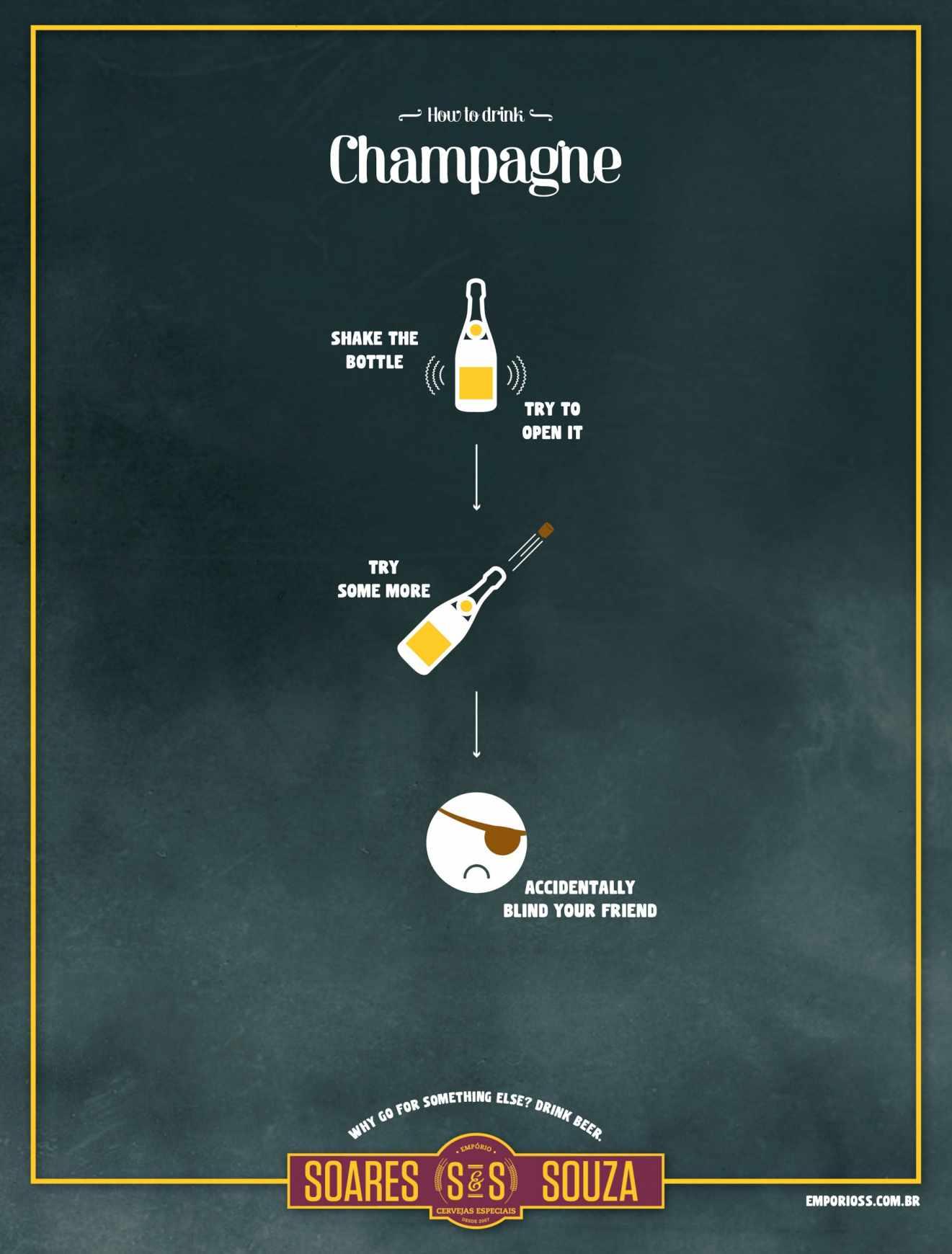 #CuandoLaPublicidad: Aprecia la cerveza.
