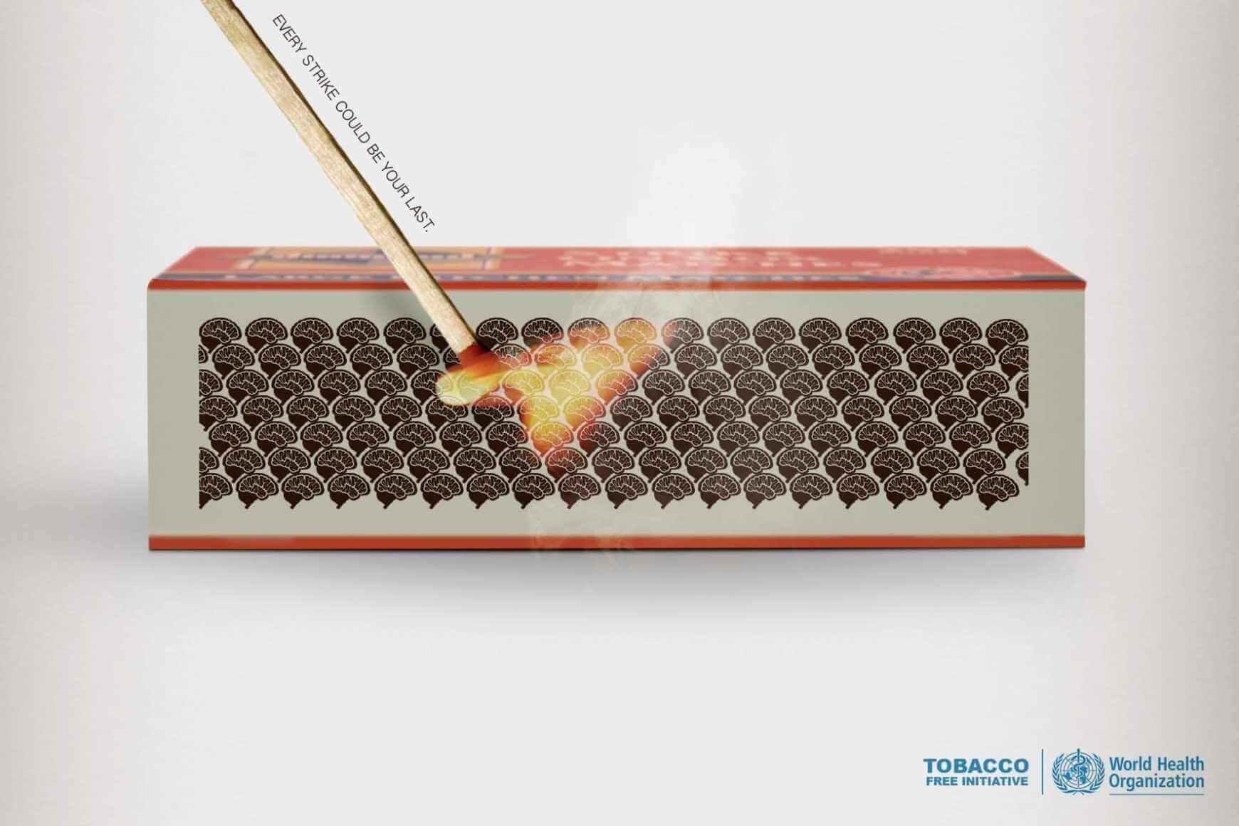 World Health Organization: Adiós al tabaco.