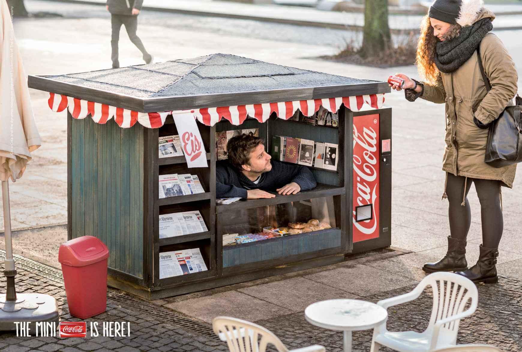 Coca-Cola mini, un pequeño gusto.