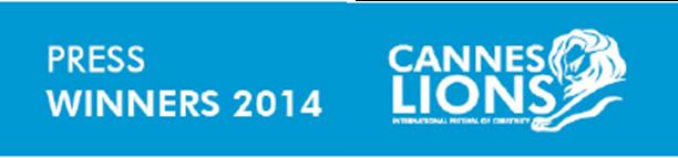 Lista de ganadores categoría: Press Cannes Lions 2014