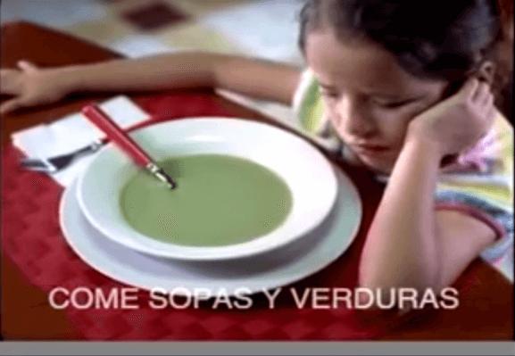 #OldSchoolAdvertising: Nutritivo y delicioso.