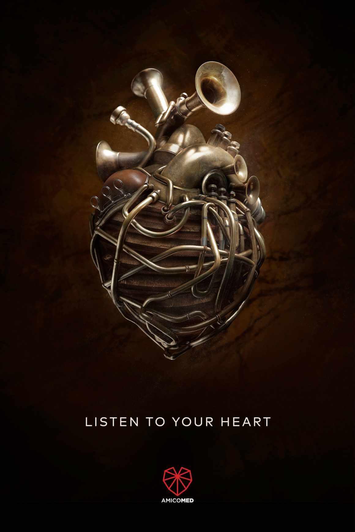 Amicomed: Escucha a tu corazón.